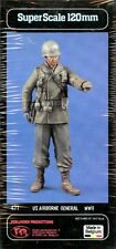 Verlinden 120mm 1:16 US Airborne General WWII Resin Figure Kit #471
