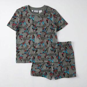 Marvel Spiderman Boys Kids Summer Pyjama set New with Tags various sizes