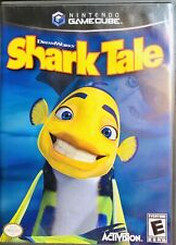 DreamWorks' Shark Tale-Nintendo GameCube-2004-Complete With Case And Manual