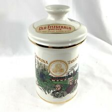 Vtg 1970 Old Fitzgerald Porcelain Bourbon Decanter South Carolina Tricentennial