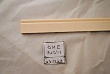 Bead Baseboard molding basswood doll house 3pc trim 1/12 scale MW12002