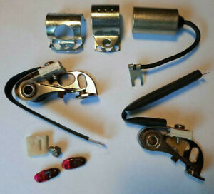 Points Dual Contact Replacement Kit w/ Condenser 59-72 CHRYSLER DODGE PLYMOUTH