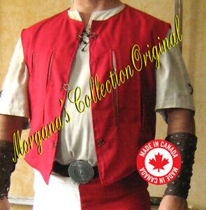 Medieval Knight Sleeveless Empire JustauCorps Doublet Jacket