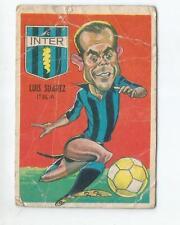 LUIS SUAREZ (ITALY) Nº 6 1967 ORIGINAL FOOTBALL SOCCER CARD
