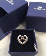 100% Genuine Swarovski Cry/RHS Ring With Box Size 55 RRP£79
