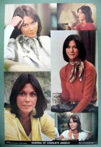 CHARLIE'S ANGELS KATE JACKSON (SABRINA) ORIG. 1977 TV SHOW CAST VINTAGE POSTER