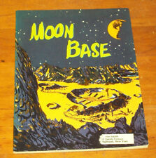 Vintage MOON BASE, Nephew and Chester, Scholastic PB 3RD PRT 1962