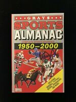 Michael J Fox Signed Back To The Future Grays Sports Almanac COA private signing