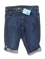 Womens H&M Blue Denim Shorts Size W30/L11