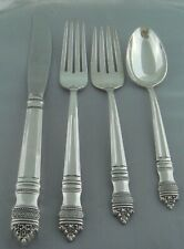 Towle Danish Baroque Sterling Silver Four ( 4 ) Piece Setting
