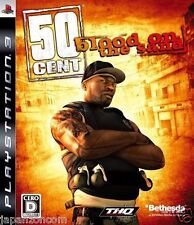 Used PS3 50 Cent: Blood on the Sand PLAYSTATION 3 SONY JAPAN JAPANESE IMPORT