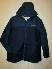 mens columbia hooded soft shell jacket XXL nwt $130  barr lake blue
