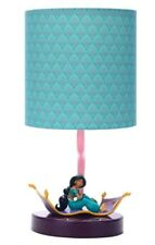NEW Official Disney - Princess Jasmine Magic Carpet Table Lamp -Beautiful Design