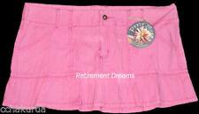 Paris Blues 15 Juniors Trendy Pink Mini Skirt NEW Ruffles