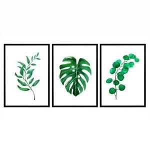 Botanical Print, Poster, Floral Print, Wall Art, Home Decor, Palm Leaf Print