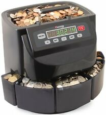 Canadian Coin Sorter Money Counter Digital Machine Bins Wrappers Hopper Batch
