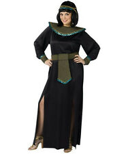 Plus Size Midnight Cleopatra Black and Gold Adult Costume