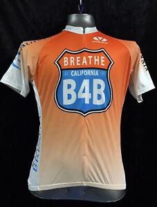 Voler Breathe California Full Zip Cycling Jersey Size Large Bicycle Bike B4B