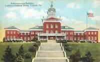Vintage 1930 Postcard Administration Building Lutheran Orphans' Home Topton Pa