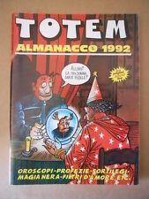 TOTEM COMIC ALMANACCO 1992  Nuova Frontiera  [G752]