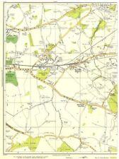 Innovazione. Huyton, cava, Roby, Roscoe'S WOOD, vecchia miniera, Prescot 1935 Mappa