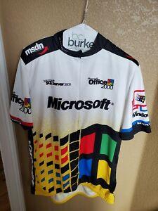 Sugoi MICROSOFT Windows 2000/Office/SQL Server Cycling Jersey Size XXL
