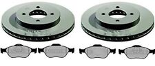 FORD FUSION FRONT BRAKE DISCS AND PADS 2002 - 2007 (258mm)