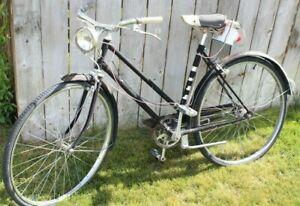 Vintage Hercules Bicycle Made In England 3-speed