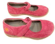 KEEN Womens 5 Girls EU37 PINK SUEDE Mary Jane Shoes Hook & Loop Adjustable Strap