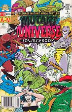 Teenage Mutant Ninja Turtles Source Book #1 - Vol A-M - 1992 (Grade 8.0) WH