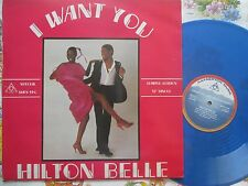 HILTON BELLE TI VOGLIO (dire sì! OH Yeah!) hafnerto shfn 149 Blue VINILE 12 pollici