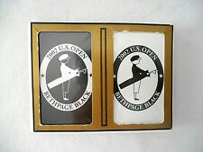 New listing 2 PACK SEALED PLAYING CARDS 2002 U.S. OPEN GOLF CHAMPIONSHIP at BETHPAGE BLACK
