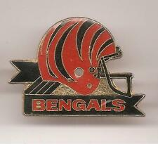 Pin's pin FOOTBALL AMERICAIN CASQUE DES BENGALS (ref CL20)