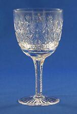 "TUDOR CRYSTAL - JEWEL / WELLINGTON DESIGN - LARGE WINE GLASS  15.4cm  / 6"""