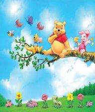Winnie Pooh Wandtattoo Wandsticker XXL 140x130cm Ferkel Kinderzimmer  Wanddeko 3