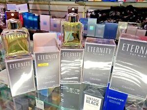 CK Eternity for Men 1 1.7 3.4 6.7 oz 1.7 Tester EDT Toilette Spray for Men * NEW