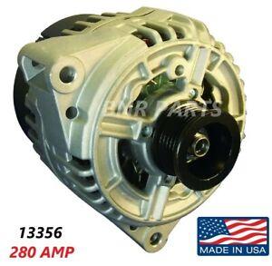 280 AMP 13356 Alternator Mercedes SE SEL SEC S High Output Performance Big Body