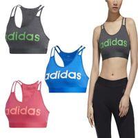 Adidas Womens Sports Bra Essentials Crossback Gym Running Bras Size