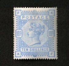 Great Britain 1884 Sc# 109, 10sh Ultra Stamp ,Queen Victoria