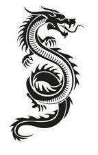 high detail airbrush stencil dragon ten FREE POSTAGE