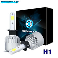 H1 COB 1500W 225000LM LED Headlight Conversion Kit Bulbs 6000K White Fog Light