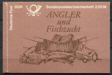 DDR 1988 Mi. MH 9 Markenheftchen 100% Postfrisch Fischer, Fisch