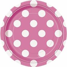 Art de la table de fête assiettes rose pour la maison