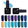 7.5ml Nail Art Soak Off UV Gel Polish Blue Black Series LED Gel Color UR SUGAR