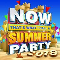 NOW That's What I Call Summer Party 2019 - Various Artists (NEW 2CD)