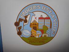 2017 Kentucky Derby Festival Kroger Feswt-A-Ville Event Pin