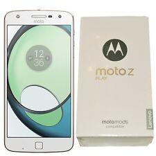 BNIB Motorola Moto Z Play 32GB XT1635-02 White/Gold Factory Unlocked 4G/LTE GSM