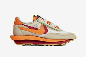 Nike LD Waffle sacai CLOT Blaze (DH1347-100) Size Mens US 8.5 Ready to Ship