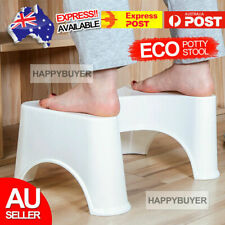 Sit & Squat Squatty Potty Stool Eco Toilet Step Stool Healthy Colon AU Bathroom
