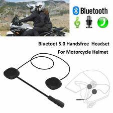Bluetooth 5.0 Helmet Headset Speaker Accessory Motorcycle Intercom Interphone Us